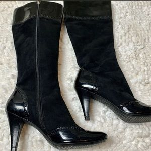 Tahari Maxie Time To Shine Knee-High Leather Boots